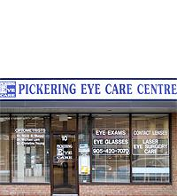 Contact Pickering Eye Care Centre